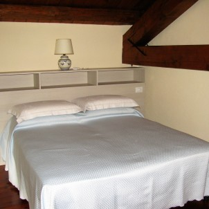 Bed and Breakfast Ca' Mia, Roppolo. Soppalco con letto matrimoniale